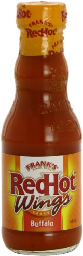 Frank's Redhot Buffalo Wing Sauce 148 ml (Pack of 6)