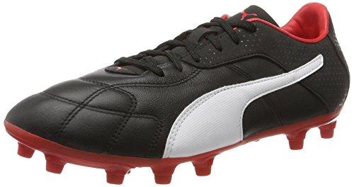 Puma Herren Esito C FG American Football Schuhe, Schwarz Black-White-Red, 48.5 EU