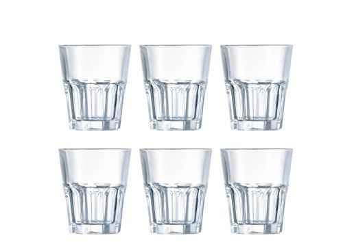 Domestic by Mäser Série New Amérique America, de Whisky Lot de 6 Gobelets 30 cl, en, Verre, Transparent, 40 x 30 x 20 CM, 6 unités de