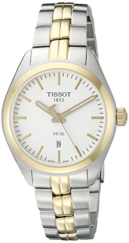 Tissot Women's T1012102203100 Analog Display Quartz Two Tone Watch