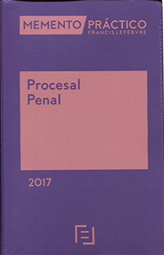 Memento práctico procesal penal 2017