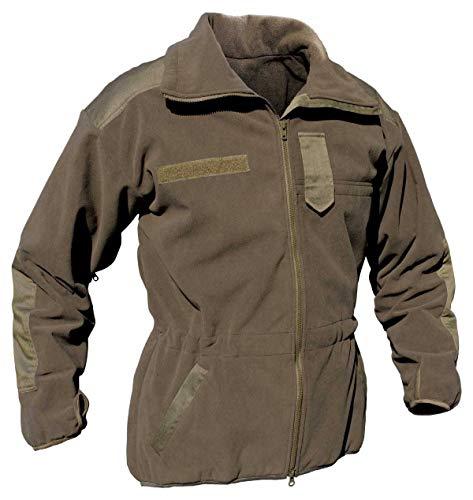 STEINADLER Alpinjacke G3 | Winddicht Atmungsaktiv Wasserabweisend | Army Militär Wandern Outdoor Prepping | Oliv-Grün Steingrau (XL)