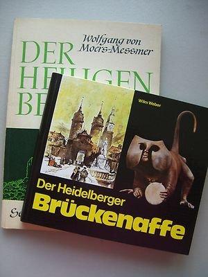 2 Bücher Heidelberger Brückenaffe Heiligen Berg Heidelberg Geschichte Ruine