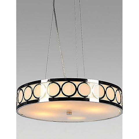 Illuminazione jiaily cristallo luce da soffitto con 4 luci , (120 Volt 4 Catena Luce)