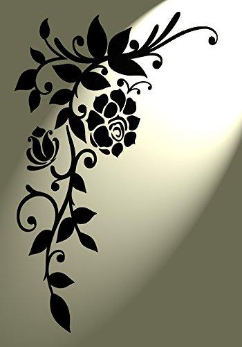vintage-style-shabby-chic-pochoir-rose-flourish-dangle-rustique-en-mylar-a4-297-x-210-mm-meubles-mur