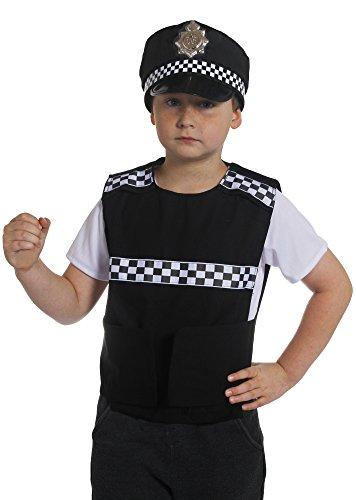 ILOVEFANCYDRESS I Love Fancy Dress ilfd7060s Kind Polizei Weste (klein)