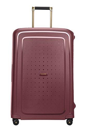 SAMSONITE S'Cure DLX Spinner 75, 4.5 KG Equipaje de Mano, 75 cm, 102 Liters, Rojo (Burgundy/Gold Deluscious)