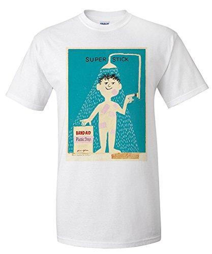 band-aid-vintage-poster-artist-savignac-raymond-c-1956-premium-t-shirt