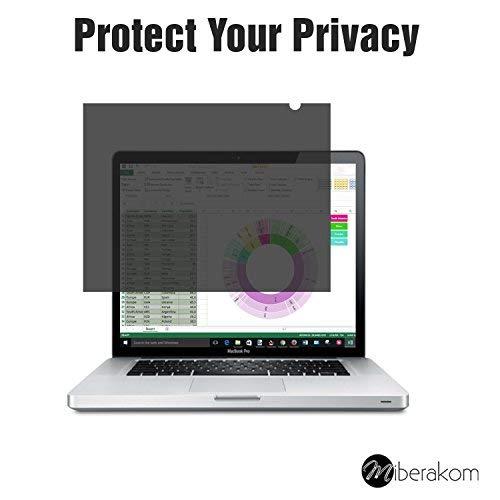 miberakom privacy Screen Filter/Filtro Privacy/Schermo per la privacy per notebook computer portatili e Monitor 14 310 x 174