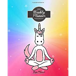 Yoga Planner 2020 Weekly Planner Weekly And Monthly: Animal Unicorn Cat Yoga Weekly Daily Monthly Planner Calendar Schedule Organizer (Animal Yoga ... Calendar 2020 Planner Series 8 x 10 inches)