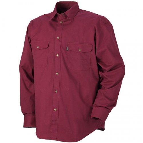 Blakläder 323511905700X L Größe X-Large Shirt Profil–Wein Rot (X-large, Wein)