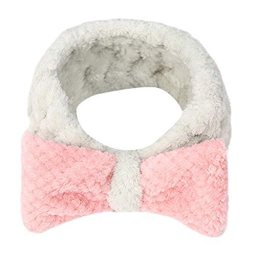 Setsail Frauen Bogen hoch elastisch waschen Haarschmuck Haarband mehrfarbig Kopfband Haarspange, speciales neues Design für Damen (A)