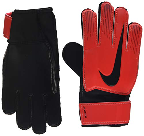 Nike Kinder NK GK MATCH JR-FA18 Soccer Gloves, university red/Black/Metallic, 4 -