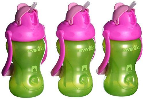 evenflo-futtern-advanced-swing-3-pack-behandelt-stroh-tassen-grun-pink