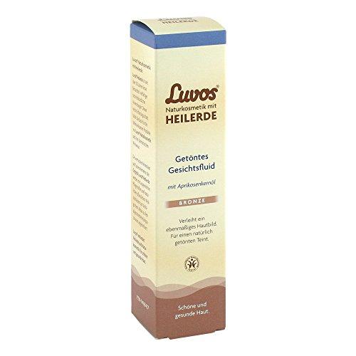 LUVOS Getöntes Gesichtsfluid Bronze, 50 ml