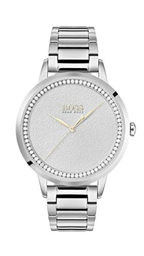 Hugo Boss Womens Analogue Classic Quartz Watch with Stainless Steel Strap 1502462