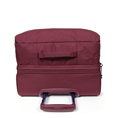 Eastpak Tranverz M, Bagaglio con Ruote Unisex - Adulto, Rosso (Merlot Stitched), 78 liters, Taglia Unica (67 cm x 35.5 cm x 30 cm)