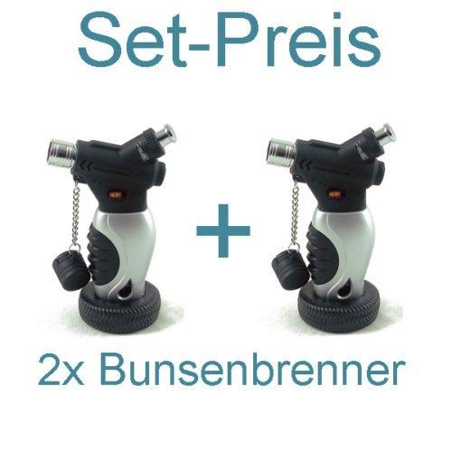 feuerzeug brenner 2x Unilite Sturmfeuerzeug mit arrettierbarer Jetflamme im Autoreifen-Design