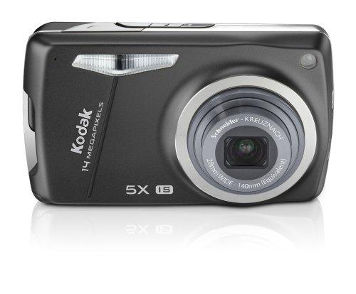 "Kodak EasyShare M 575 Digitalkamera (14 Megapixel, 5-fach opt. Zoom, 7,6 cm (3,0\"") Display) schwarz"