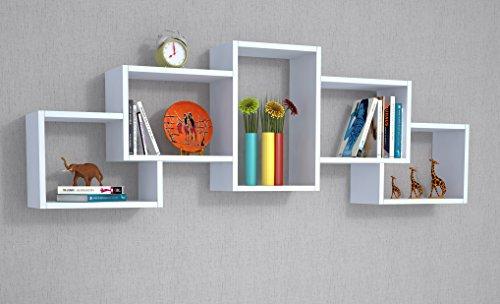 Mensole Per Soggiorno Moderno.Berril Mensola Da Parete Mensola Libreria Scaffale Pensile Parete Non Importa Per Soggiorno In Un Design Moderno