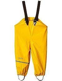 CareTec Pantalones Impermeable con Forro Unisex Niños, amarillo (Yellow 324), 80