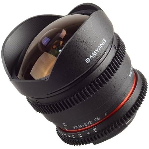 Samyang 8 Mm T3 8 Fisheye Objektiv Kamera