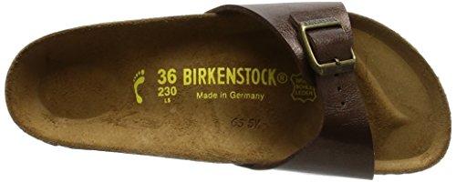 Birkenstock Madrid, Mules Marron (Graceful Toffee)