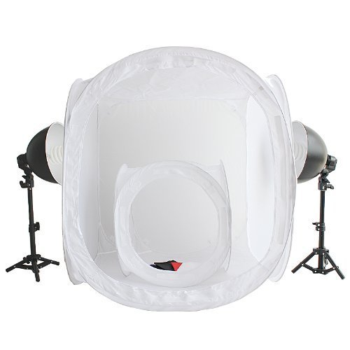 Preisvergleich Produktbild RPGT® Fotozelt Lichtzelt Würfel 50x50x50cm 80x80x80cm Ministudio Fotostudio