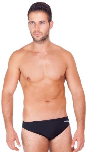 Manta Swim Men's 5 cm Cayo Badehose Brief schwarz - schwarz