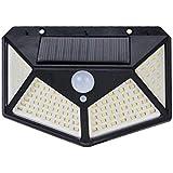 Solar Power Led Light With Motion Sensor - 114 LED