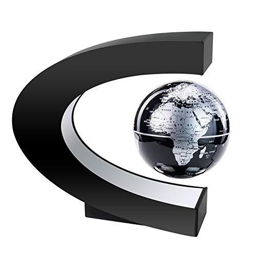 VIWIV Inteligente De Alta Tecnología Globo De Levitación Magnética Artesanías De Regalo Exóticas Decoración De La Oficina En El Hogar Ayudas para La Enseñanza De Los Niños,Black