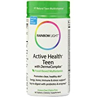 Rainbow Light - salute attivo teenager multivitaminico - 90 compresse