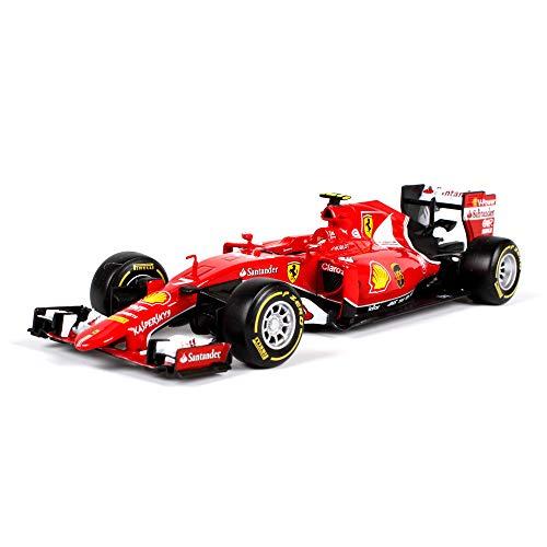 LUCKYCAR Coche de Carreras de aleación Ferrari F1 1:24, Modelo de Coc