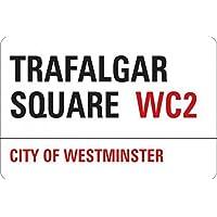 1art1® Londres - Trafalgar Square Vinilo Decorativo Pegatina Autoadhesivo (9 x 9cm)