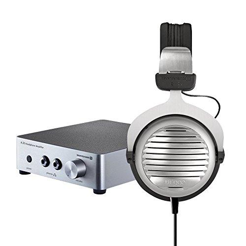 beyerdynamic DT 990 Edition 600 Ohm Hi-Fi- Kopfhörer und  beyerdynamic A 20 Premium Kopfhörerverstärker