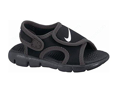 Nike - Sunray Adjust 4 (td), Baskets Unisexe - Bimbi 0-24 Noir (noir / Blanc / Anthracite)