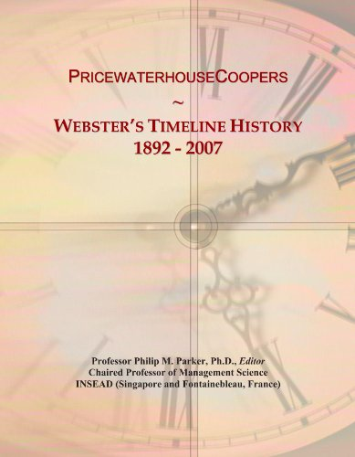 pricewaterhousecoopers-websters-timeline-history-1892-2007