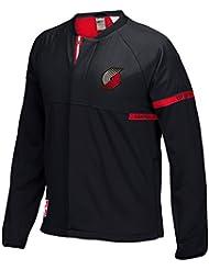 Portland Trail Blazers Adidas 2016 NBA Men's On-Court Warm-Up Full Zip Jacket Veste