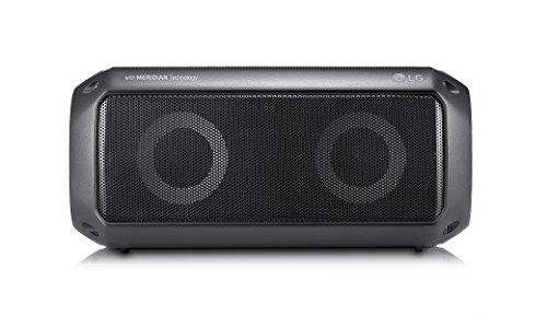 LG PK3 Outdoor Bluetooth Lautsprecher mit Meridian Technologie Schwarz
