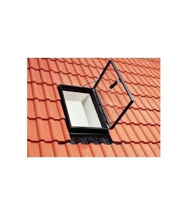 VELUX Dachfenster Dachausstiegsfenster GVT 0059Z Kunststoff schwarz