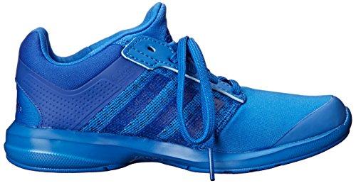 adidas Unisex-Kinder S-Flex K Sneakers, Schwarz Blau