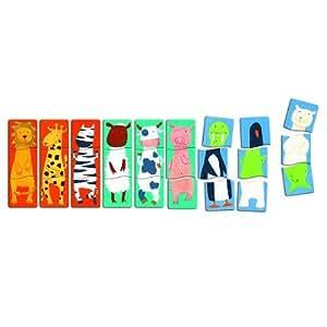 djeco 72458 puzzle dr les d 39 animaux 27 pi ces jeux et jouets. Black Bedroom Furniture Sets. Home Design Ideas