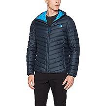 North Face M Jiyu Full Zip Hoodie - Chaqueta con cremallera y capucha para hombre, color azul, talla L