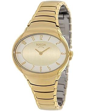 Boccia Damen-Armbanduhr Analog Quarz Titan 3165-21