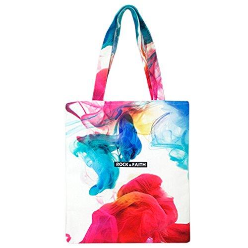 Große Kapazität Damen Tasche Sling Bag Street-Style wiederverwendbare Taschen Street Sling