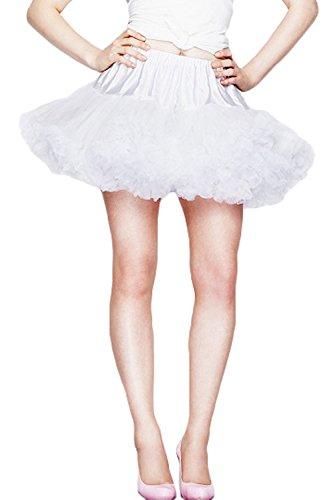 Sottogonna, alto esterno delle ginocchia hell bunny Bianco