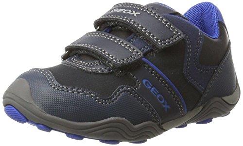 Geox Jungen Jr Arno A Sneaker, Blau (Dk Navy/Royal), 37 EU (Jungen Geox Sneakers)