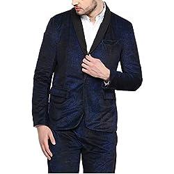 Yepme Bekker Party Blazer - Blue -- YPMBLZR0007_XL