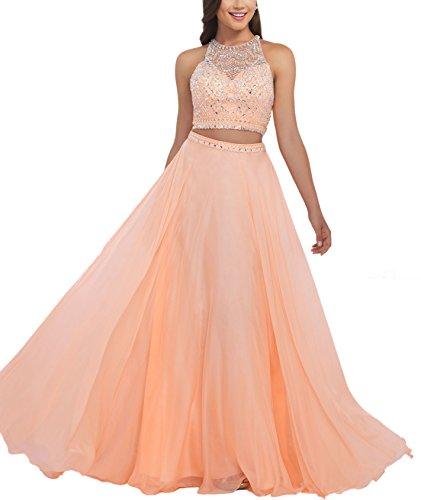 Bridal_Mall - Robe de mariage - Trapèze - Femme Orange - Orange