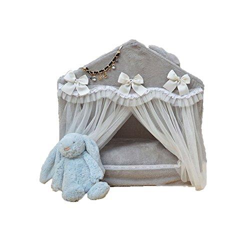 FH Zwinger Waschbar Pet Waterloo Koreanische Version Haustier Haus Teddy Bichon Lovely Princess Bett Nistkästen